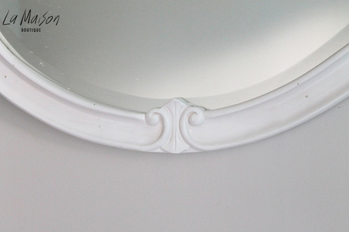 IN STOCK NOW: French Classic round mirror