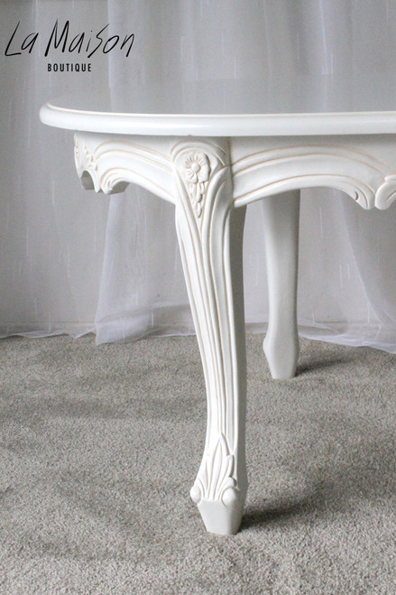 IN STOCK NOW: Oval coffee table - small