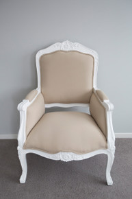 IN STOCK NOW: Devine armchair - stone