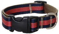 Prep School Dog Collar-Jake
