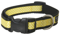 Pembroke Polka Dot Dog Collar-Yellow