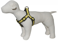 Pembroke Polka Dot Dog Harness-Yellow