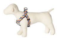 Bubble Gum Dog Harness - Mumbo Jumbo on Blue