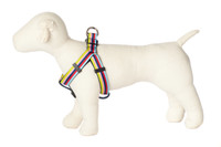 Bubble Gum Dog Harness - Yummy Gummy on Blue