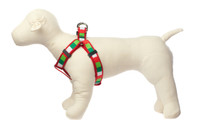 Christmas Morning Dog Harness - Be Merry Block
