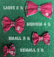 Bow Tie - Christmas Red