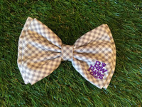 Southern Charm Collection-Checks-Ash-Bow Tie