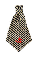 Southern Charm Collection - Midnight Stripe - Neck Tie