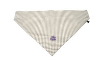 Southern Charm Collection - Checks Ash- PawKerchief