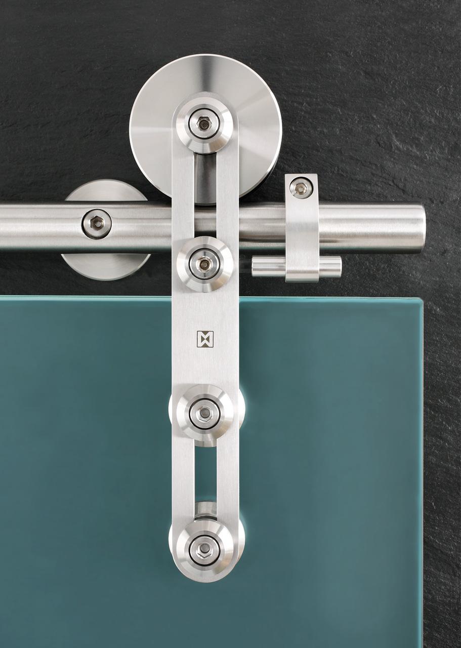 MWE Protec | Modern Barn Door Hardware