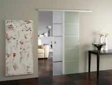 Modern Barn Door Hardware - Dorma Muto Comfort L 80