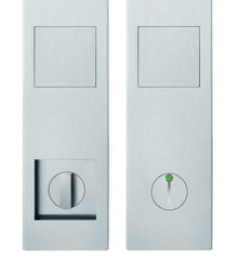 Modern Pocket Door Cup Pull - FSB 4255 09008