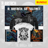 A Breach of Silence - Catalog Bundle 8 (2CD + Poster + Welcome to the Show Tee + Zip-up Hoodie)