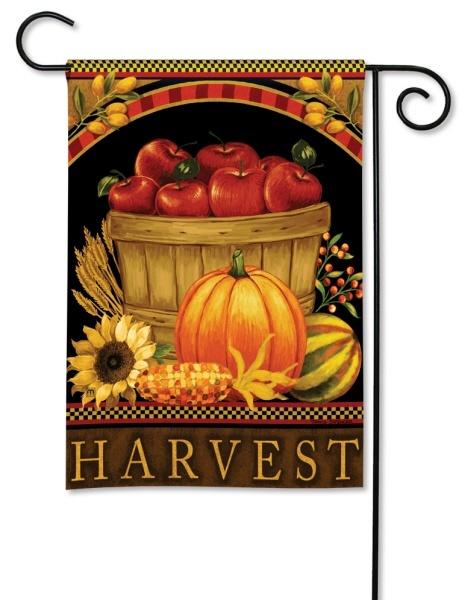 Harvest Basket Garden Flag
