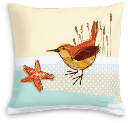 Wren pillow