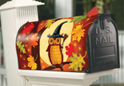 Halloween Owl Mailbox Cover