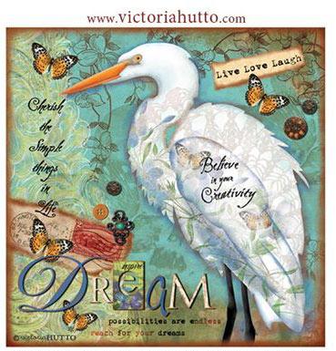 Victoria Hutto's Egret