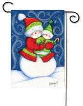 Snowbaby Garden Flag by Toland Flags