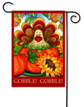 Autumn Turkey Garden Flag by Toland Flags