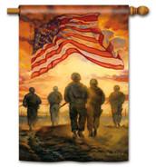American Heroes House Flag