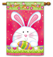Hippity Hop BreezeArt House Flag