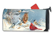 Wild Party Mailwraps Magnetic Mailbox Cover