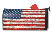 Pledge of Allegiance Mailwraps Magnetic Mailbox Cover