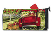 Red Truck Mailwraps Magnetic Mailbox Cover