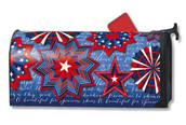 Celebrate America Mailwraps Magnetic Mailbox Cover