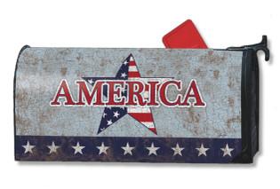 America Patriotic Mailwraps Magnetic Mailbox Cover