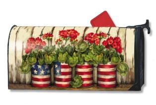 Patriotic Mailwraps Magnetic Mailbox Cover