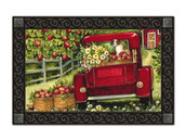 Red Truck Doormat by MatMates