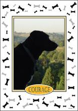Personalized Pet Photo Flag: Dog -  House Size 30 x 40