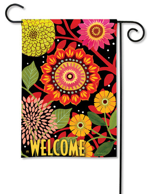 Autumn Bloom Garden Flag