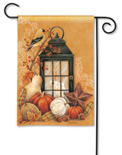 Autumn Lantern Garden Flag