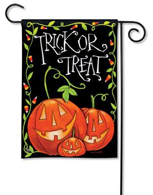 Halloween Treat Garden Flag