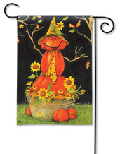 Mr. Scarecrow Garden Flag