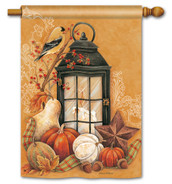 Autumn Lantern Standard Flag