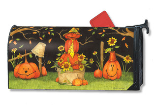 Mr. Scarecrow Mailwraps Magnetic Mailbox Cover