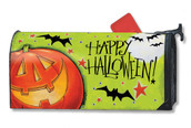 Great Big Pumpkin Mailwraps Magnetic Mailbox Cover