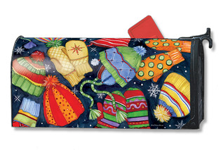 Hats & Mittens Mailwraps Magnetic Mailbox Cover