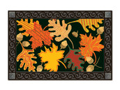 Patterned Leaves Doormat by MatMates
