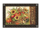 Fall Basket MatMates Doormat