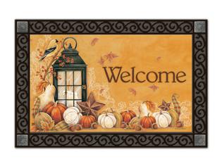 Autumn Lantern MatMates Doormat