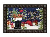 Santa's Boots MatMates Doormat