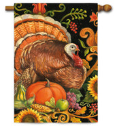 Folk Turkey House Flag