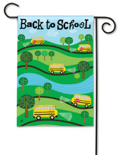 Back to School Garden Flag by BreezeArt