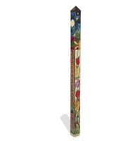 Peace Garden 6' Art Pole