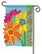 Flag Trends gerbera daisy applique garden flag