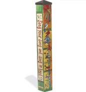 Feed the Birds 4' Art Pole - Includes Shipping